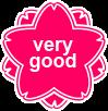桜 very good ピンク (小)