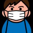 風邪・インフルエンザ予防のイラスト
