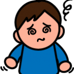 風邪・インフルエンザの症状のイラスト