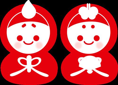 ひな祭りのイラスト