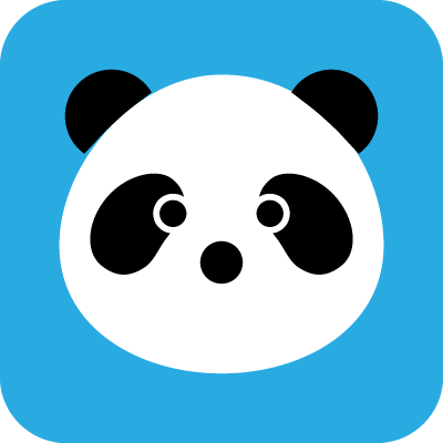 動物のイラスト パンダ