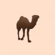 動物のイラスト ラクダ