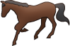 動物のイラスト 馬