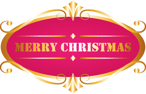 メリークリスマスのイラスト