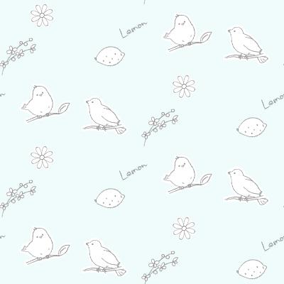 小鳥の背景パターン