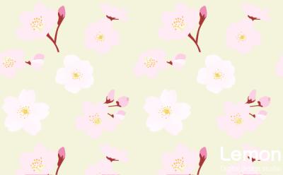 桜の花のパターン