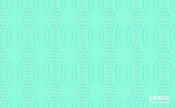 ケーブルニットの背景パターン グリーン