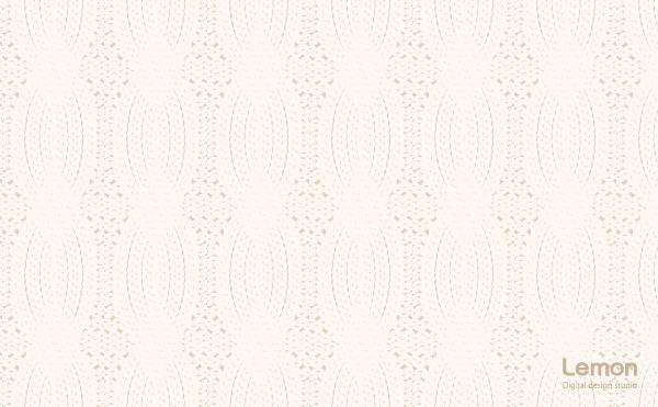 ケーブルニットの背景パターン オフホワイト