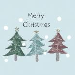 クリスマスツリーのイラスト 北欧風