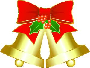 クリスマス ベル 柊付き